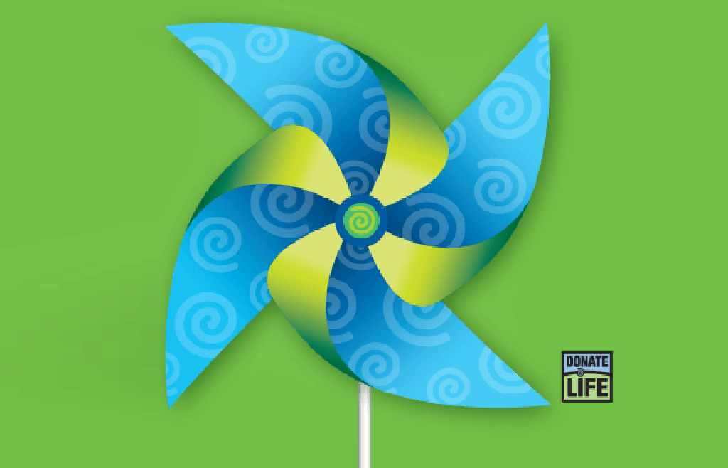 National Donate Life Month logo