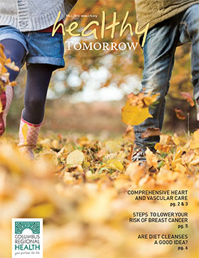 Healthy Tomorrow Fall 2016 cover