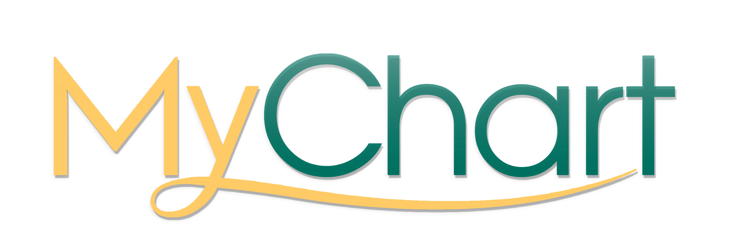 Mychart_yellowgreen_V1_greengradient_logo