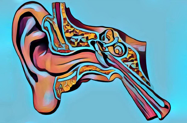 Tinitus illustration