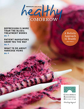 Healthy Tomorrow issue cover