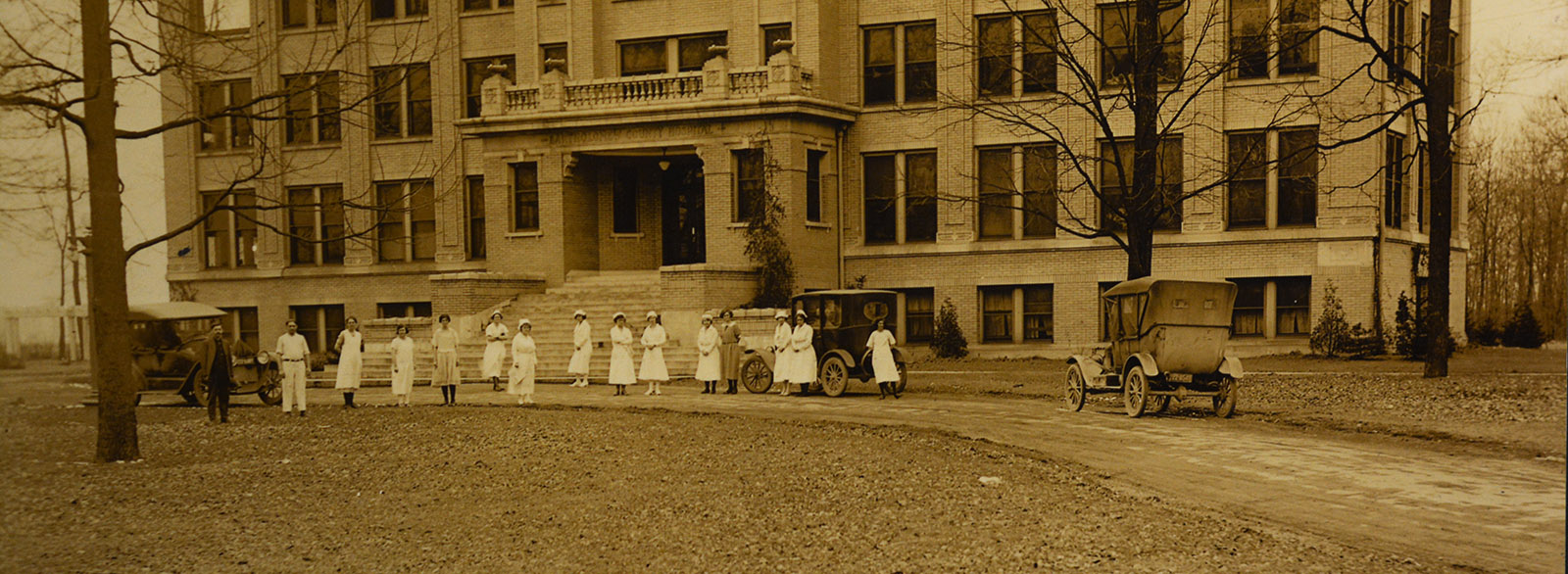 Historic photo of Bartholomew County Hospital