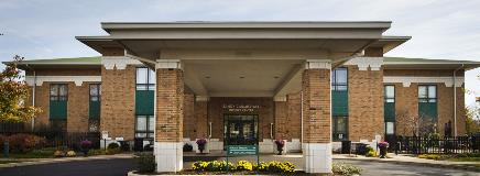 Our Hospice facility exterior