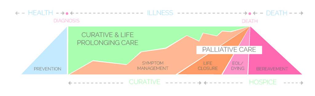Palliative care graphic