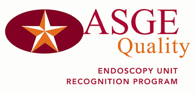 colonoscopy screening, ASGE logo