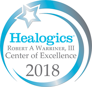 Healogics Center of Excellence 2018 logo