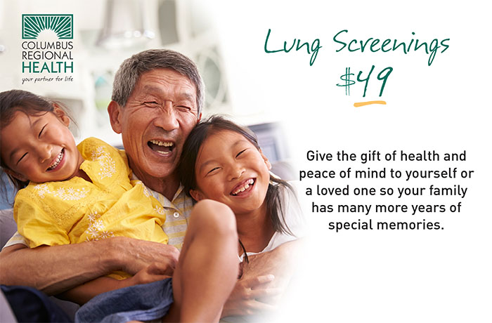 $49 lung screening promotion