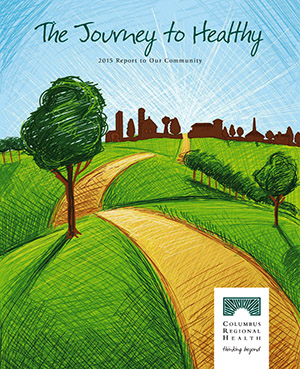 Journey to Healthy annual report front page