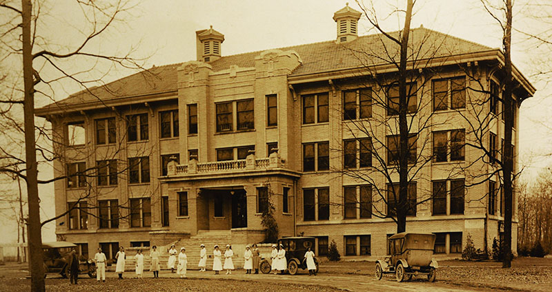 Bartholomew County Hospital in early 20th Century