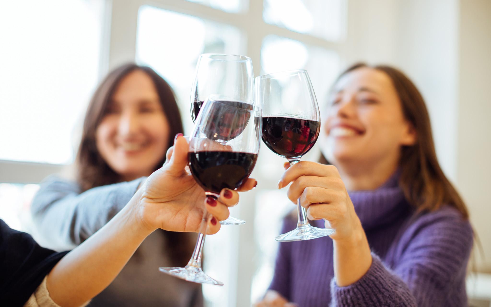 Wine Drinking iStock-1185257095