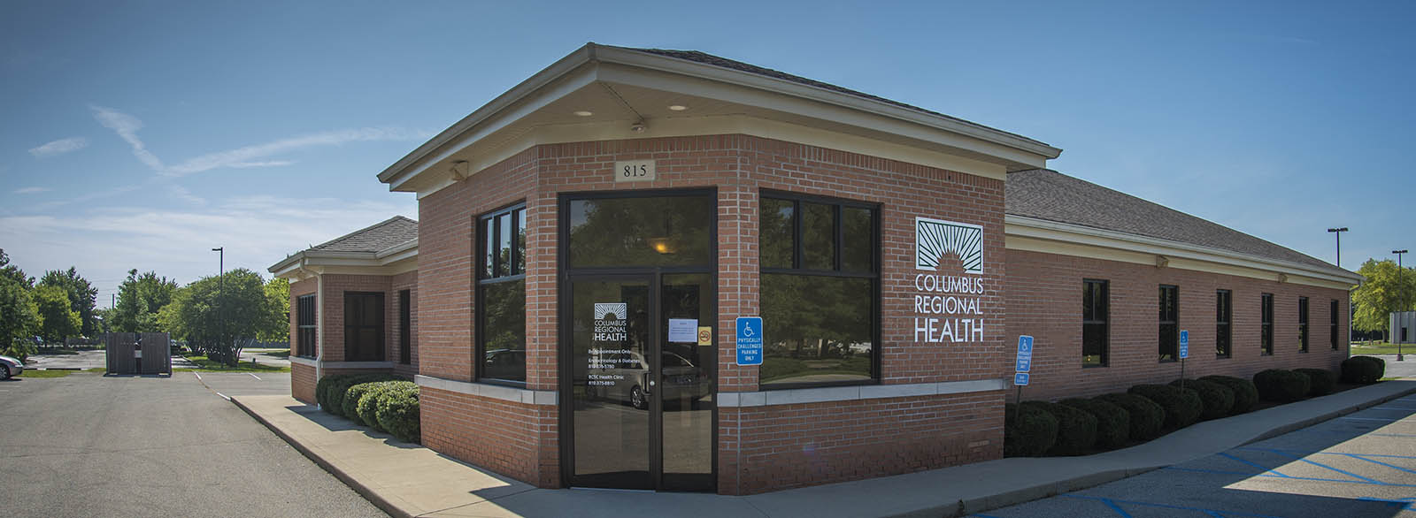 BCSC Health Clinic exterior.