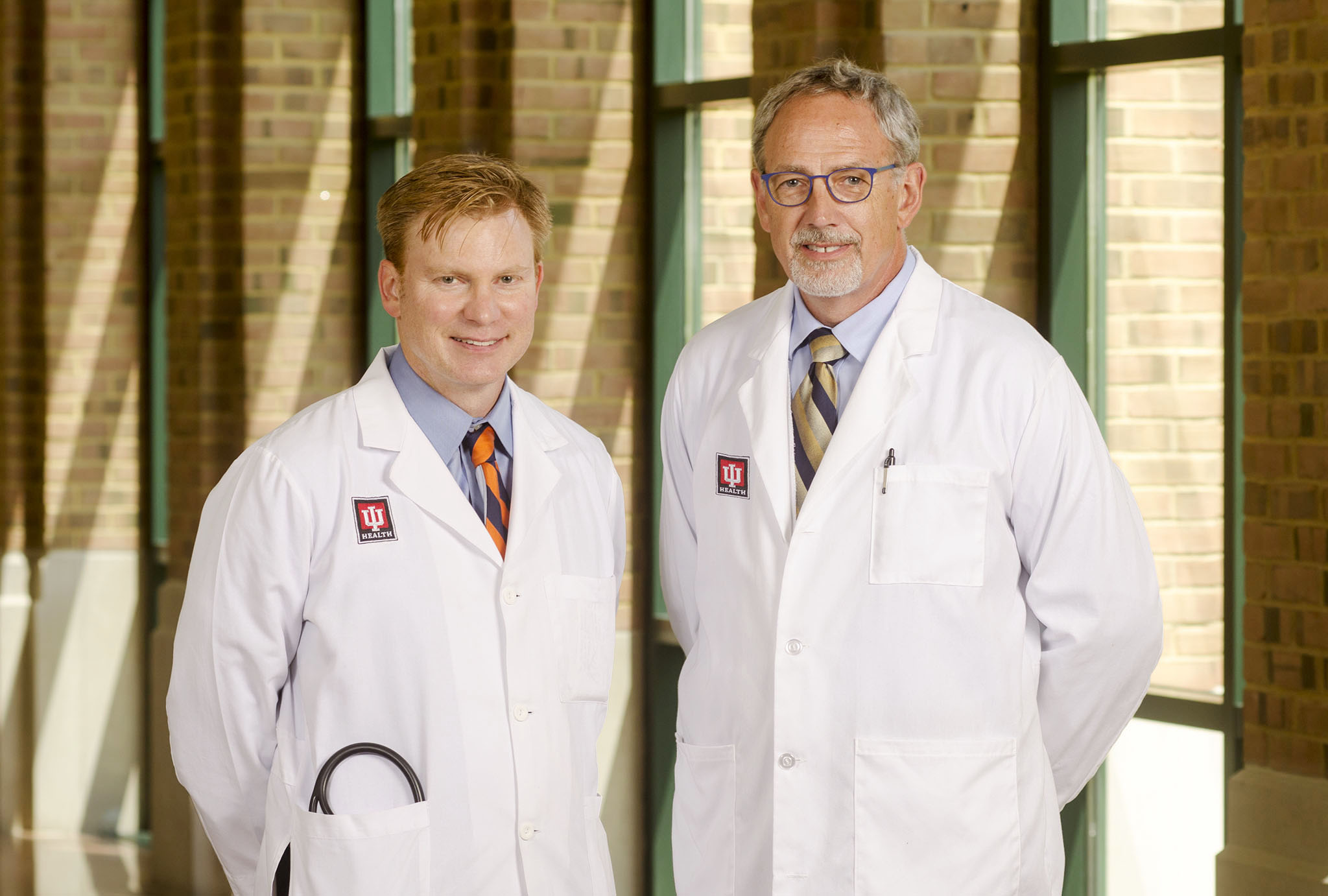 Doctors David Hart and Greg Dedinsky