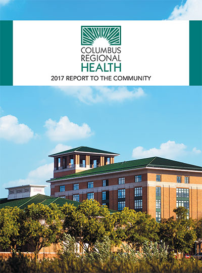 2017 Annual Report to Our Community, cover image