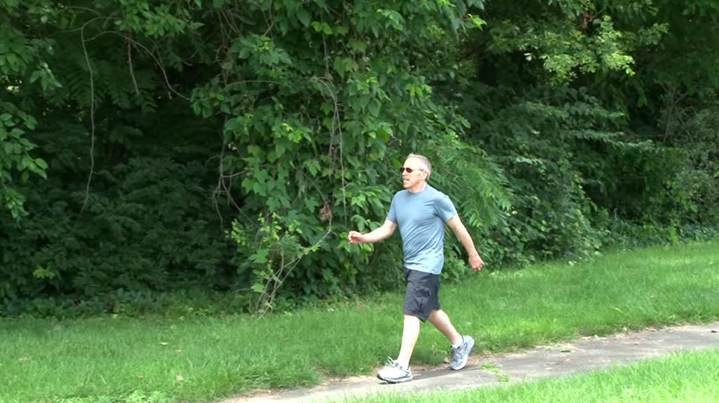 Stu Kaplan walking