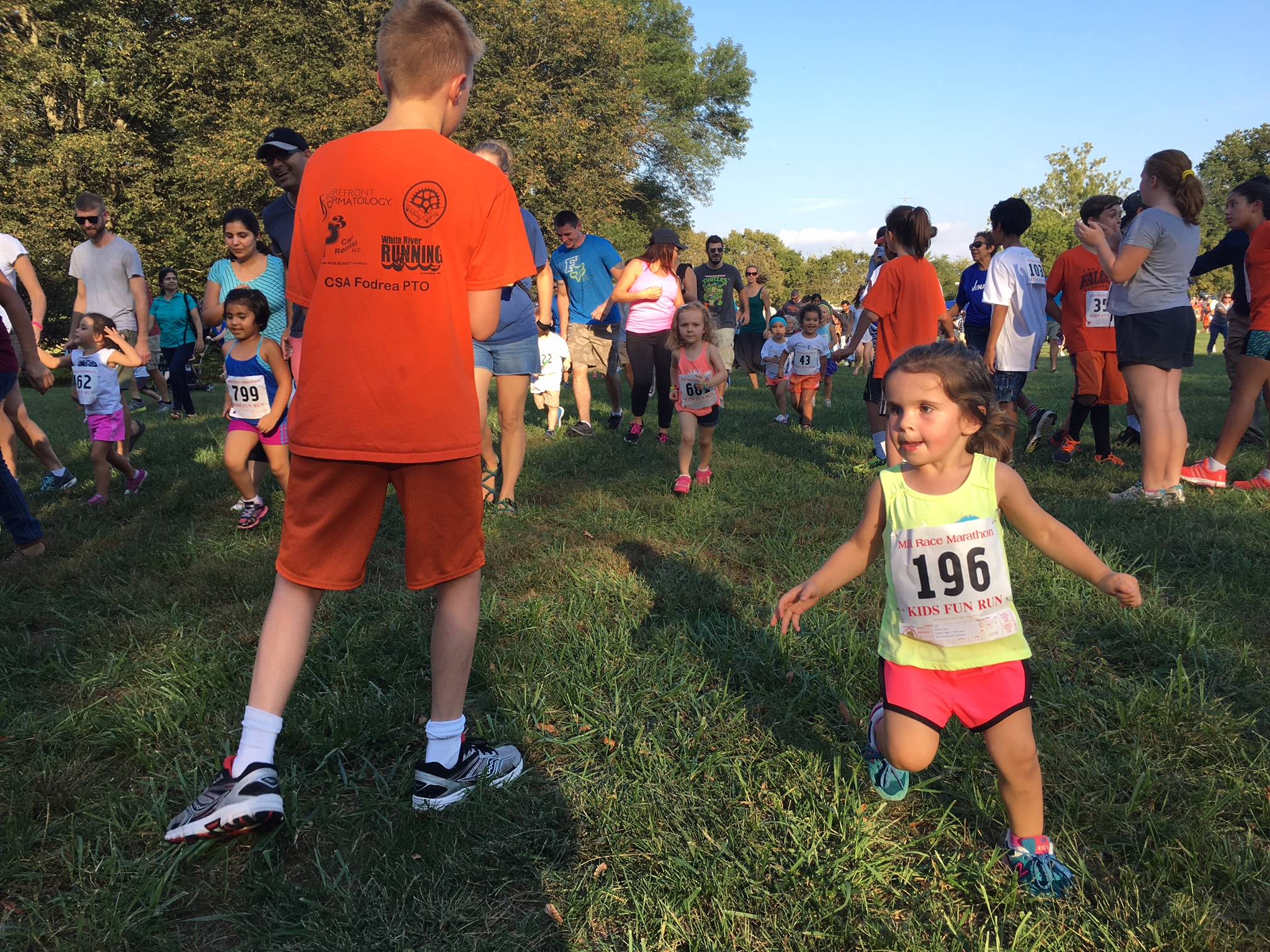 Kids Fun Run -- tots race