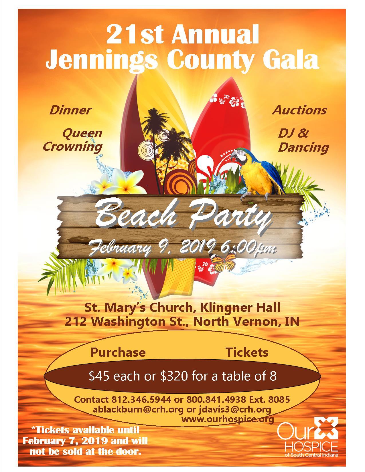 Jennings County Gala 2019