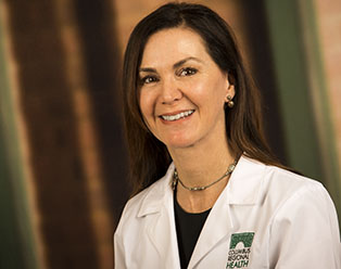 Radiologist Suzanne Hand, MD