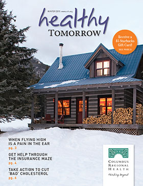 Healthy Tomorrow magazine cover