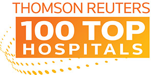 Thomson Reuters 100 Top Hospitals logo