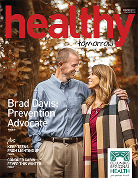 Winter 2019 Healthy Tomorrow magazine cover