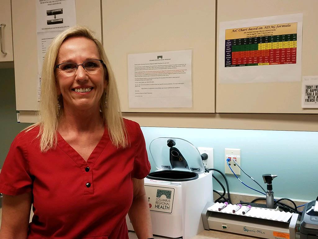 Medical Assistant Cindy Flora